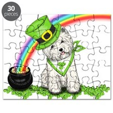Shamrock Westie Puzzle