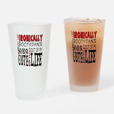 Patrick Stump Quote Drinking Glass