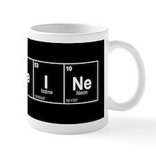 CaFFeINe (Black Background) Mug