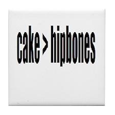 Cake > Hipbones Tile Coaster