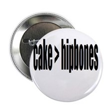 "Cake > Hipbones 2.25"" Button"
