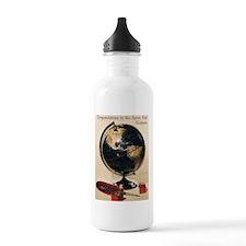 Vintage/Retro Graduation Water Bottle