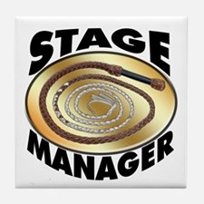 Stage Manager's Tile Coaster
