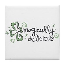 Magically Delicious Tile Coaster