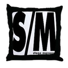 S/M Throw Pillow