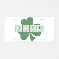 Irish [elements] Aluminum License Plate