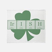 Irish [elements] Throw Blanket