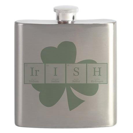 Irish [elements] Flask