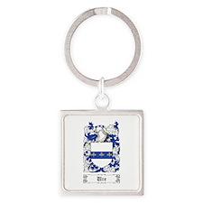 Ure Square Keychain