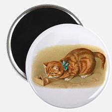 Victorian Cat Magnet