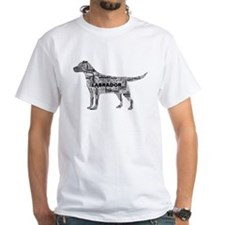 Labrador Typography Art T-Shirt