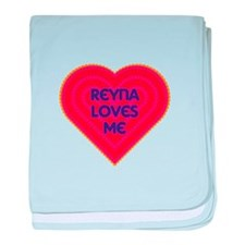 Reyna Loves Me baby blanket