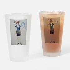 Happy Bastille Day! Drinking Glass
