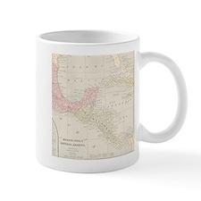 Vintage Central America Map Mug