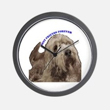 otterhound Wall Clock