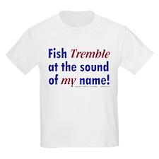Fish Tremble... Kids T-Shirt