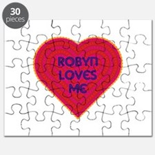 Robyn Loves Me Puzzle