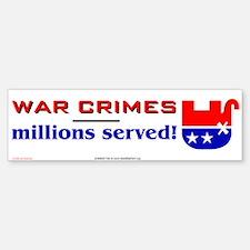 war crimes - millions served