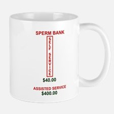 SPERM BANK SERVICES Small Mug