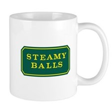 STEAMY BALLS Small Mug