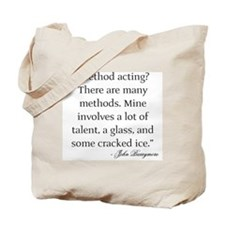 On Method Acting Tote Bag