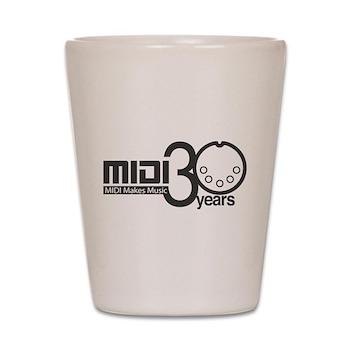 MIDI 30th Anniversary Shot Glass