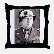 General GS Patton Throw Pillow