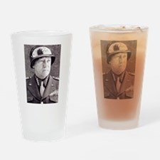 General GS Patton Drinking Glass
