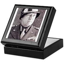 General GS Patton Keepsake Box