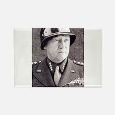 General GS Patton Rectangle Magnet
