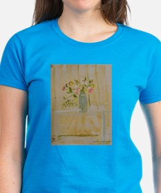 Flowers at Afternoon Tea T-Shirt