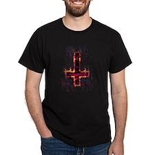 CROSS ON FIRE t-shirt