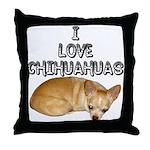 Chihuahua Kiki Throw Pillow