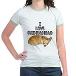 Chihuahua Kiki Jr. Ringer T-Shirt