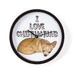 Chihuahua Kiki Wall Clock