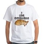 Chihuahua Kiki White T-Shirt
