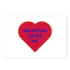 Savannah Loves Me Postcards (Package of 8)