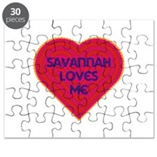 Savannah Loves Me Puzzle