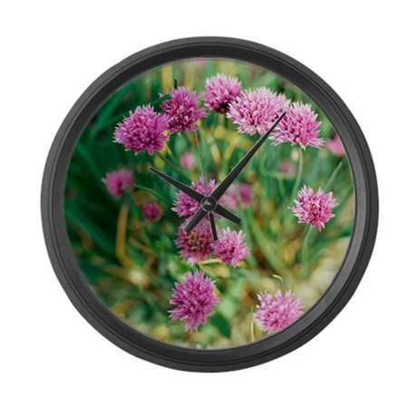 Chives - Large Wall Clock