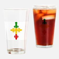 Ethiopian Cross Drinking Glass