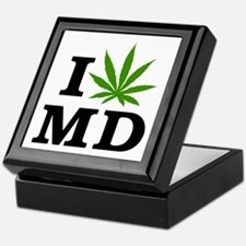 I Love Cannabis Maryland Keepsake Box