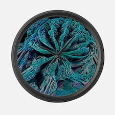 Mandelbulb fractal - Large Wall Clock