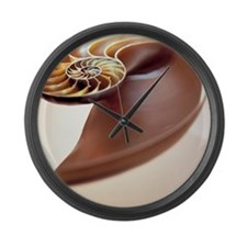 Nautilus shell - Large Wall Clock