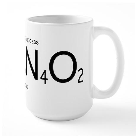 Caffeine Formula (Black Lettering) Large Mug