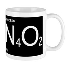Caffeine Formula (White Lettering) Mug