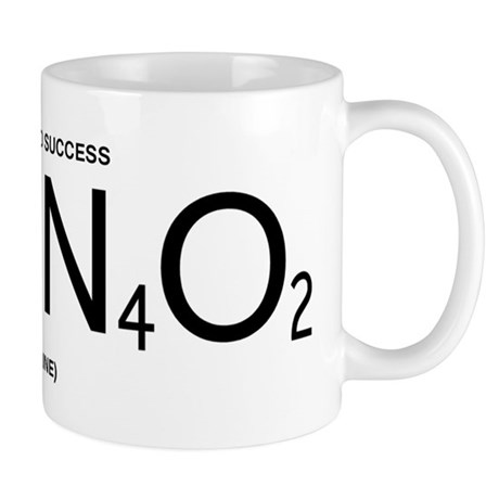 Caffeine Formula (Black Lettering) Mug