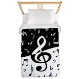 Music Luxe Twin Duvet Cover