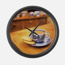 Cup of tea - Large Wall Clock