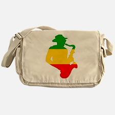 Rasta Sax Messenger Bag