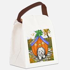 Pumpkin House Canvas Lunch Bag